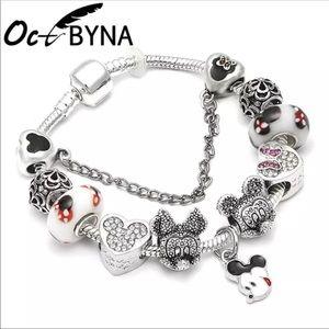 Jewelry - 20cm Brand New Mickey Mouse Charm Bracelet